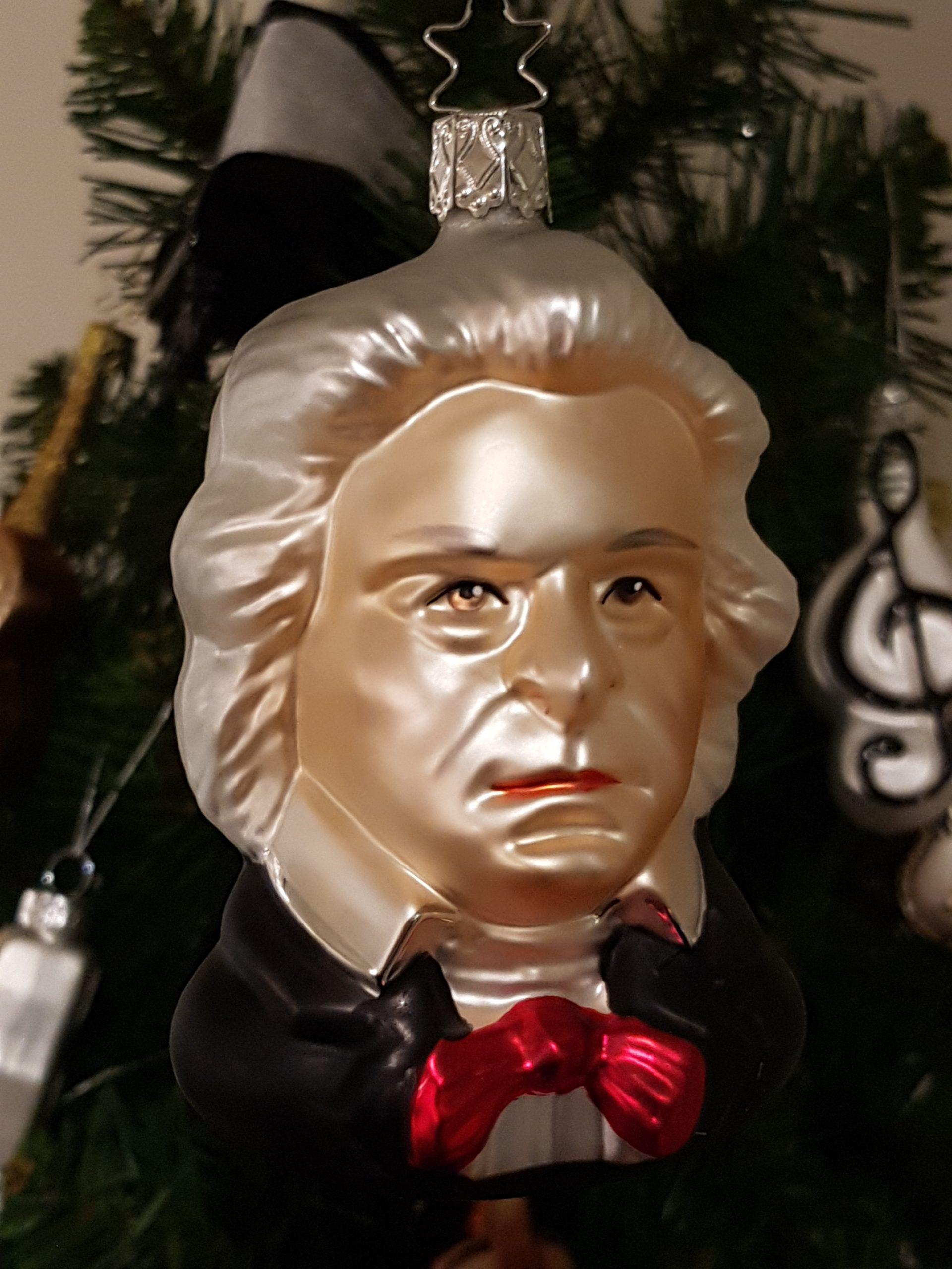 Beethoven als Christbaumschmuck